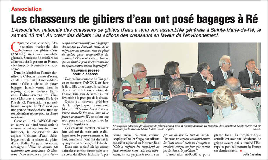 Article le phare de Ré