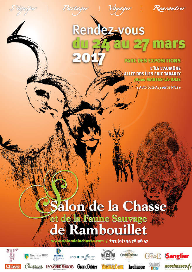 affiche salon chasse rambouillet 2017